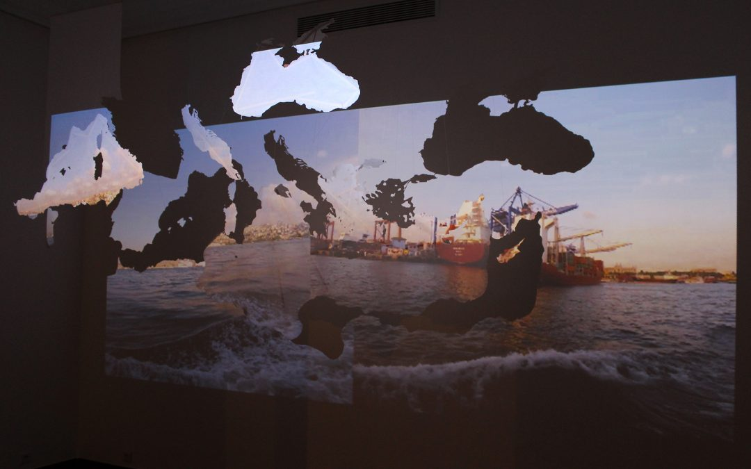 'Bosphorus' Installation at the 4th International Biennial of Casablanca –  2018