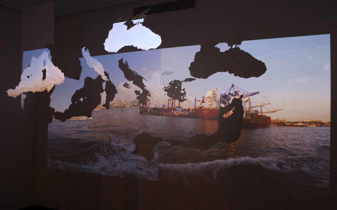 'Bosphorus' Installation at the 4th International Biennial of Casablanca –  2018