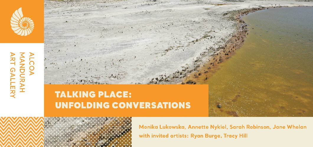 Talking Place: unfolding conversations